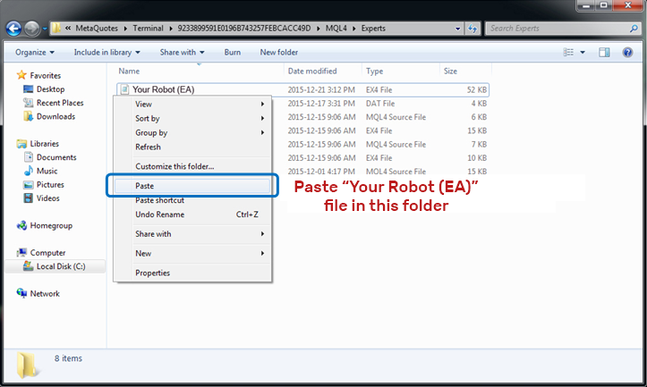 How to install a forex robot in metatrader 4